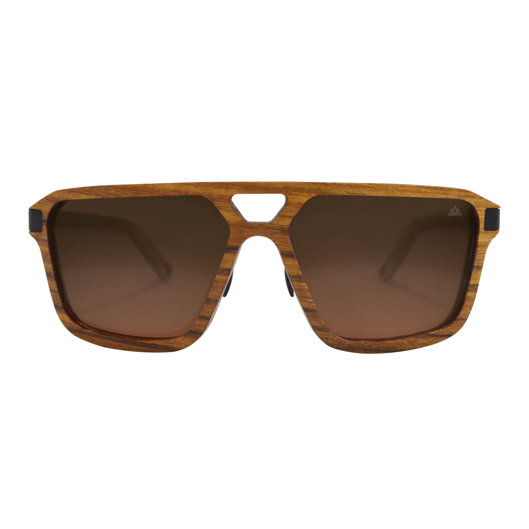 Sonnenbrille in Braun-Schwarz kd0iJTf00s